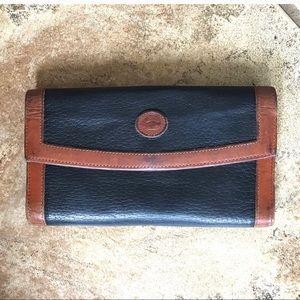 Vintage Dooney & Bourne Leather Wallet